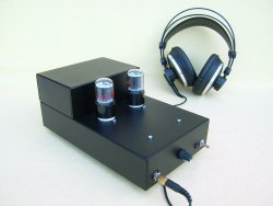 NovoTone - Amplificateur pour Casque - 6EM7 en Single End