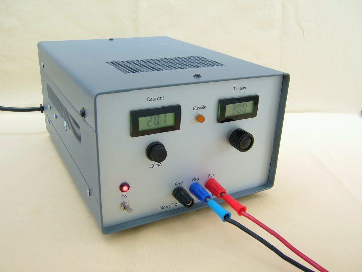 NovoTone - Alimentation HT de laboratoire - HV laboratory power supply